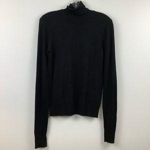 Twik for Simons Turtleneck Sweater in Black